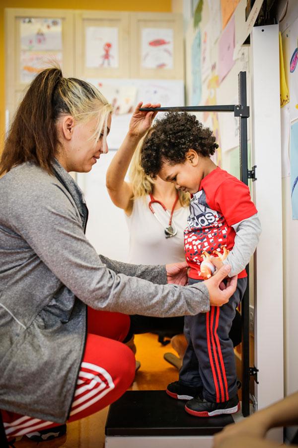 Services pédiatriques